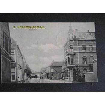 Steenbergen 1913 - postkantoor - stoomdrukkerij
