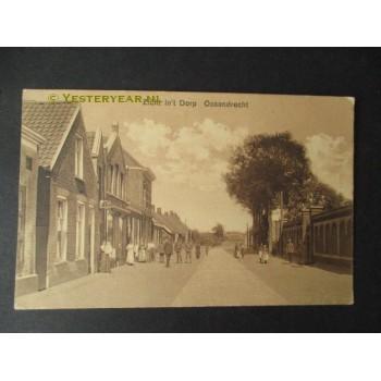 Ossendrecht 1915 - zicht in het dorp