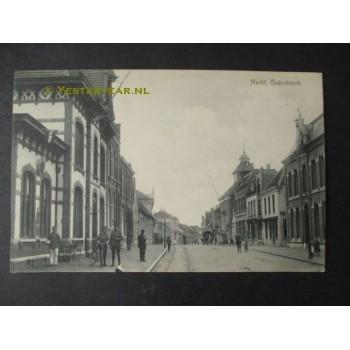 Oudenbosch 1916 - Markt raadhuis postkantoor