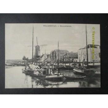 Willemstad 1916 - Binnenhaven