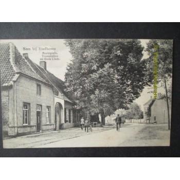 Son 1917 - Marktplein - tramstation en oude linde