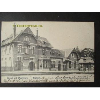 Meerssen 1903 - Station