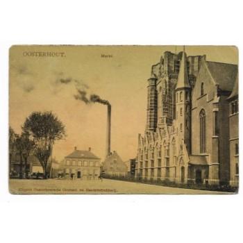 Oosterhout 1901 - Markt - kerk