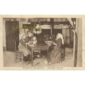 Brabantsch Dorpsleven 1926 - Boxtel huiselijk tafereel