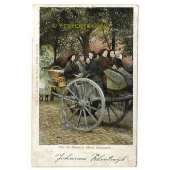 Landleven - Vught 1905 - terug van de markt