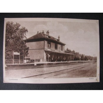 Lunteren - Station ca. 1925