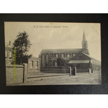Heerle 1925 - school - kerk - patronaat