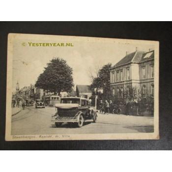 Steenbergen 1930 - Kaaistraat met villa