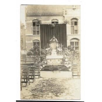 Venray 1916 - altaar Sacramentsprocessie - fotokaart