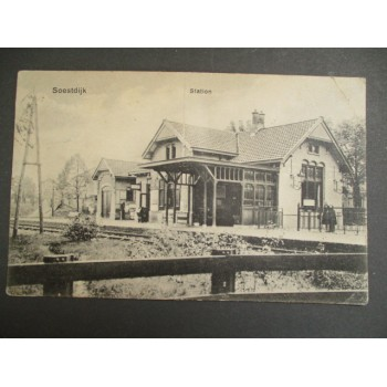 Soestdijk 1924 - station