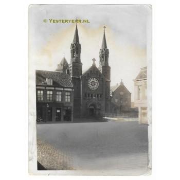 Roosendaal 1920 - Paterskerk Dwarskade- foto