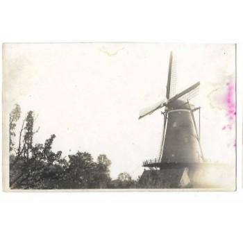 Groede 1925 - molen - fotokaart