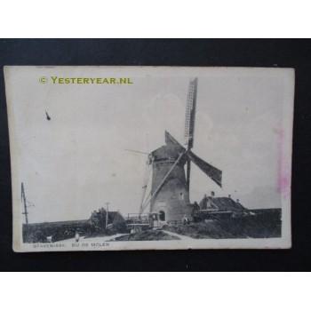 Stavenisse 1925 - molen grondzeiler