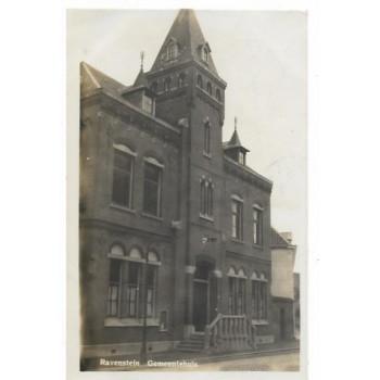 Ravenstein 1930 - Gemeentehuis - fotokaart