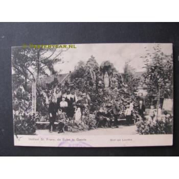 Goirle 1908 - Instituut St.Franc. de Sales - grot