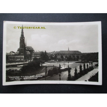 Wassenaar 1935 - Kerk Willibrordus + Pension