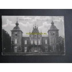 Roosteren 1913 - Kasteel voorzijde
