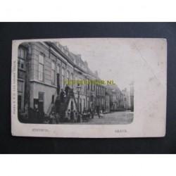 Grave 1920 - Stadhuis - Markt