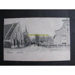 Vlijmen 1908 - Grote kerk - ingang dorp
