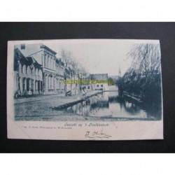 Willemstad 1903 - gezicht op het Postkantoor