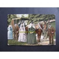 Zeeland 1912 - paard en koets