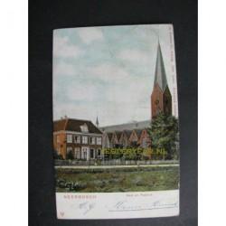 Neerbosch Nijmegen 1907 - Kerk en pastorie