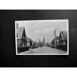 Drunen ca. 1935 - Torenstraat + kerktoren