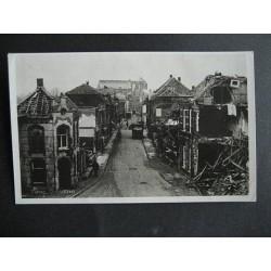 Venray 1946- Grootestraat Oorlogsschade 1946 - fotokaart
