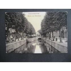 Schoonhoven 1908 - haven met boterhuis