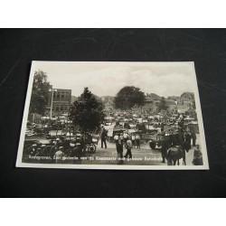 Bodegraven 1940 - kaasmarkt met gebouw Rehoboth
