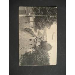 Arnhem 1914 - Willemsplein - ruiters te paard - tram