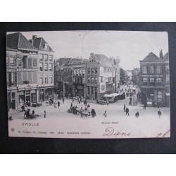 Zwolle 1903 - Groote Markt