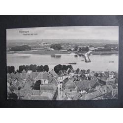 Nijmegen ca. 1915 - gezicht op Lent - panorama