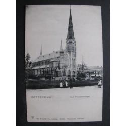 Rotterdam ca. 1900 - Provenierssingel - kerk