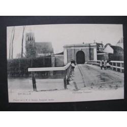Brielle ca. 1900 - voormalige Zuidpoort