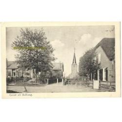 Aalburg ca. 1900 - dorpsbeeld- kerk