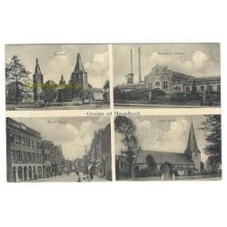Hoensbroek ca. 1910 - 4 afbeeldingen