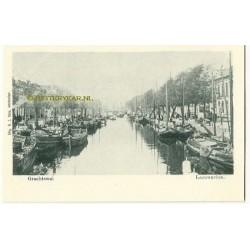 Leeuwarden ca. 1900 - Grachtswal