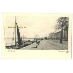 Nijmegen ca. 1900 - Waalkade