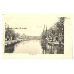 Sneek ca. 1900 - Kerkgracht