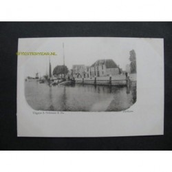 Zierikzee ca. 1900 - haven en molen