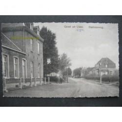 Uden 1912 - Stationsweg - hotel Wijsbek- groet uit