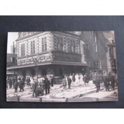 Alkmaar ca. 1930 - fotokaart - kaasmarkt en de Waag