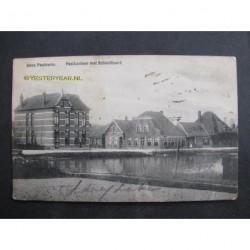 Anna Paulowna 1911 - Postkantoor met Schoolbuurt