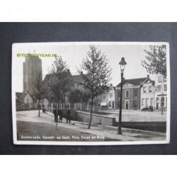 Goedereede ca. 1940 - gemeentehuis-toren-brug