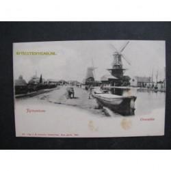 Rotterdam ca. 1900 - Overschie - 3 molens