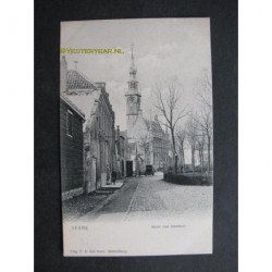 Veere ca. 1900 - Markt met Stadhuis