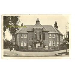Nijmegen ca. 1940 - Aula Universiteit - fotokaart