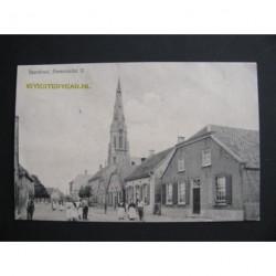 Ammerzoden ca. 1915 - Voorstraat met kerk