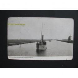 Alphen aan den Rijn 1913 - Heymanswetering met Carsjensboot